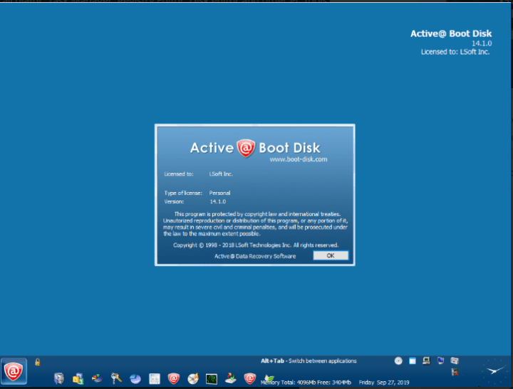 free download active boot disk full version