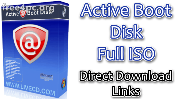 Active Boot Disk Full ISO