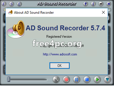 Adrosoft AD Sound Recorder Full version