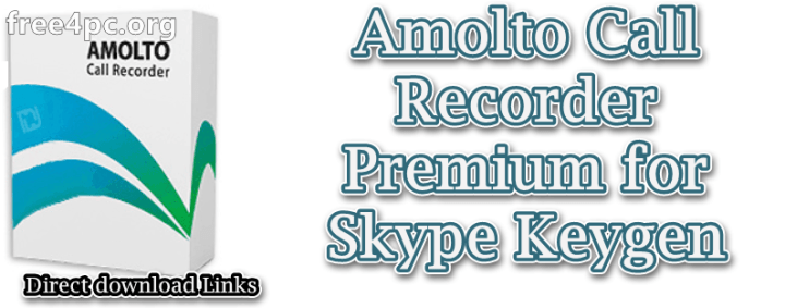 Amolto Call Recorder Premium for Skype Keygen