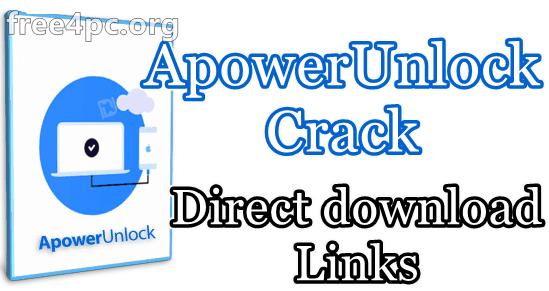 ApowerUnlock Crack