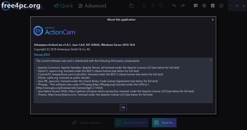Ashampoo ActionCam Full Crack
