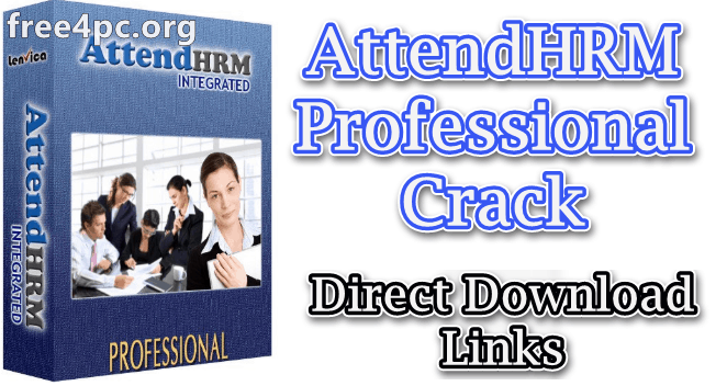 AttendHRM Professional Crack