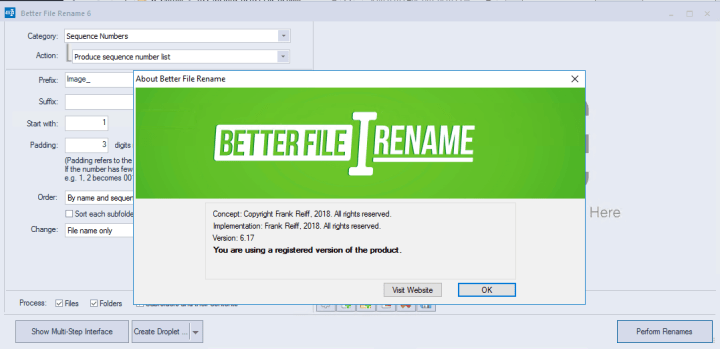 Better File Rename 6.17 Serial Key