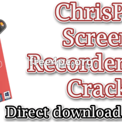 New ChrisPC Screen Recorder Pro 2 20 Registered - Cracked PC
