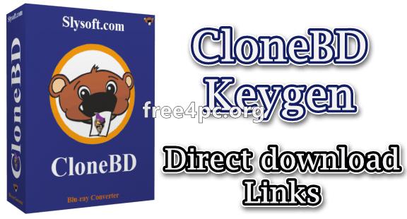 CloneBD Keygen