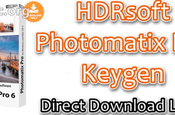 HDRsoft Photomatix Pro Keygen Free Download