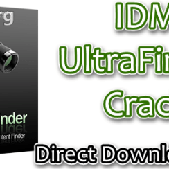 IDM UltraFinder Crack