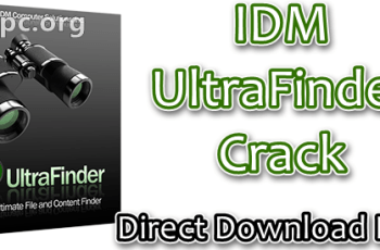 IDM UltraFinder Crack