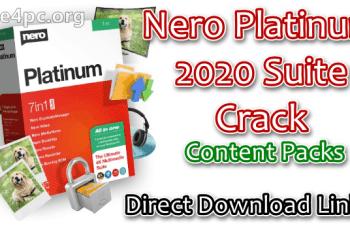 Nero Platinum 2020 Suite Crack