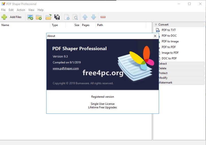 PDF Shaper Professional 9.3 Full version