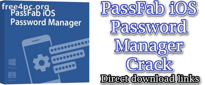 PassFab iOS Password Manager Crack