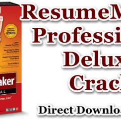 Resumemaker Professional Deluxe Zip Download Cracked Pc Software