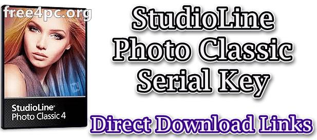 StudioLine Photo Classic Serial Key