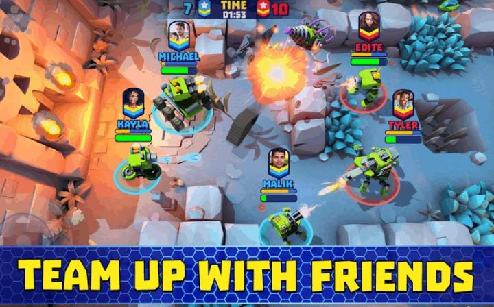 Tanks A Lot Realtime Multiplayer Battle Arena Ver. 2.25 MOD APK