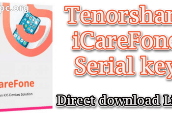 Tenorshare iCareFone Serial key