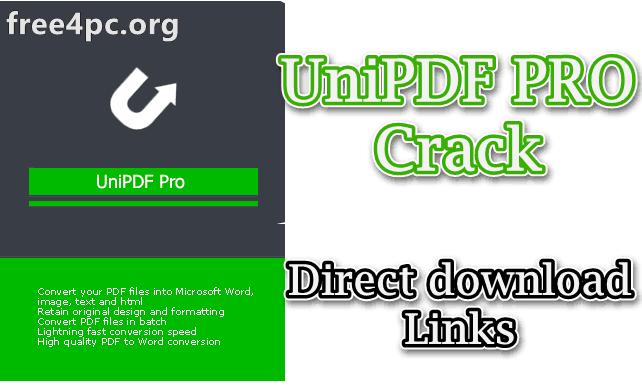 UniPDF PRO Crack