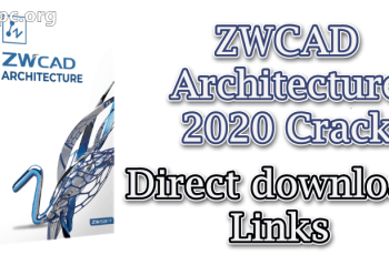 Zwcad Architecture 2020 With Crack X64 Latest