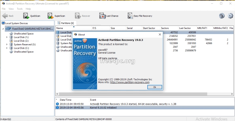 Active Partition Recovery Ultimate 19 Crack