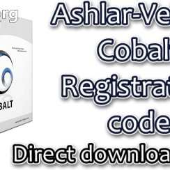 Ashlar-Vellum Cobalt Registration code