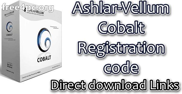 Ashlar-Vellum Cobalt Registration code