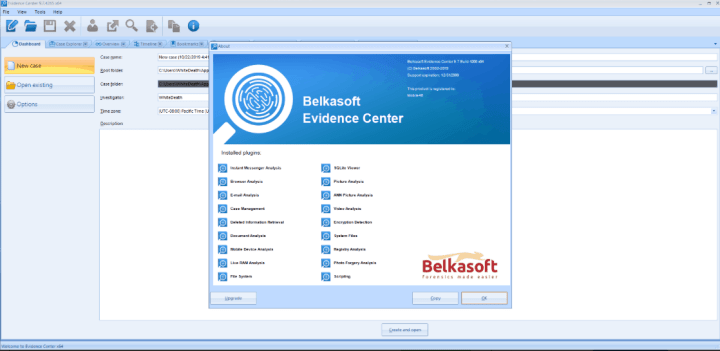 Belkasoft Evidence Center 2020 Crack