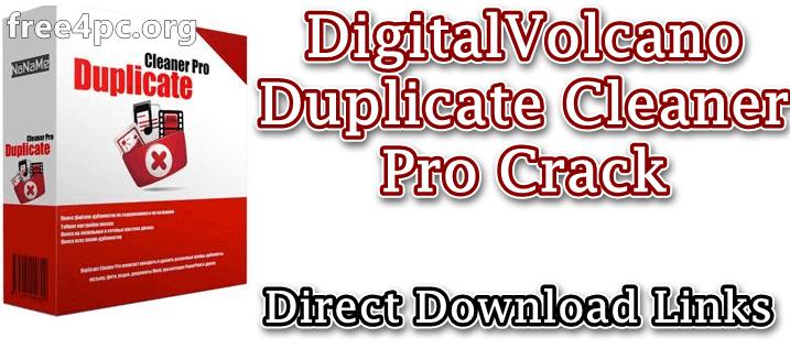 DigitalVolcano Duplicate Cleaner Pro Crack