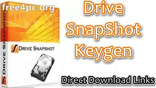 Drive SnapShot Keygen