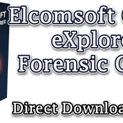 Elcomsoft Cloud eXplorer Forensic Crack