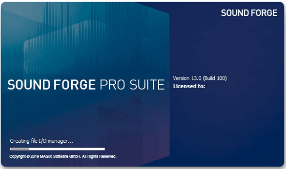 MAGIX SOUND FORGE Pro Suite 13 Crack