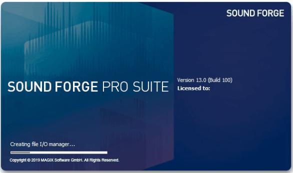 MAGIX SOUND FORGE Pro Suite 13 Crack
