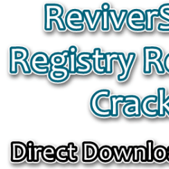 ReviverSoft Registry Reviver Crack