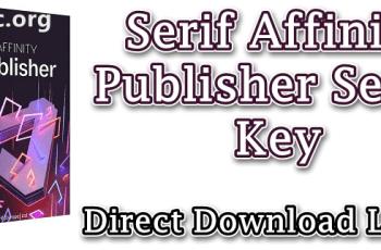 Serif Affinity Publisher Serial Key