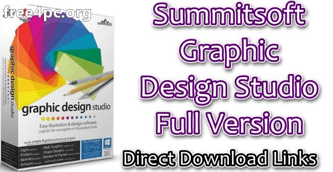 Summitsoft Graphic Design Studio Full Version