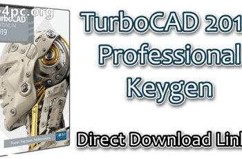 TurboCAD 2019 Professional Keygen