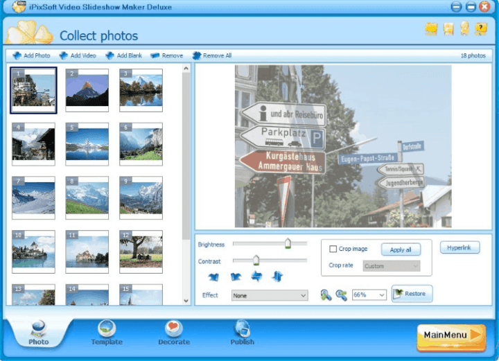 iPixSoft Video Slideshow Maker Deluxe 4.5.0 Crack