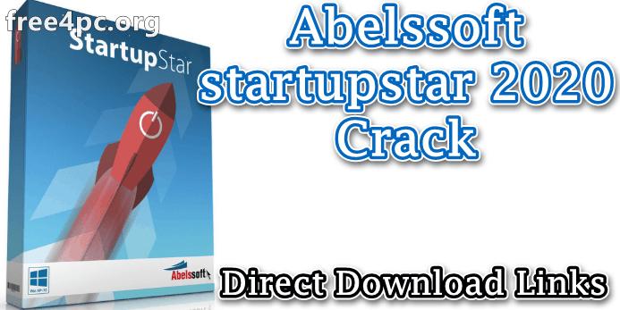 Abelssoft startupstar 2020 Crack