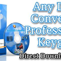 Any DVD Converter Professional Keygen