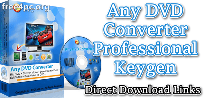 Any DVD Converter Professional Keygen