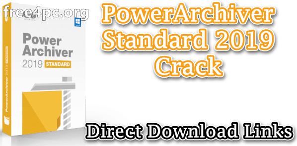 PowerArchiver Standard 2019 Crack