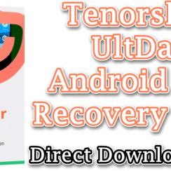 Tenorshare UltData Android Data Recovery Crack