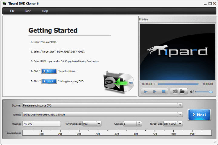Tipard DVD Cloner Registration Code