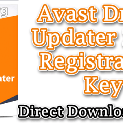Avast Driver Updater 2020 Registration Key