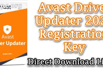 Avast Driver Updater 2020 Registration Key
