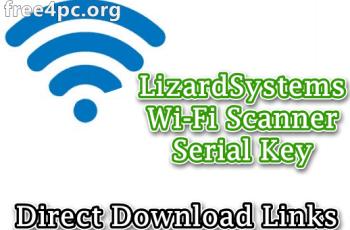 LizardSystems Wi-Fi Scanner Serial Key