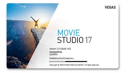 MAGIX VEGAS Movie Studio Platinum 17 Crack