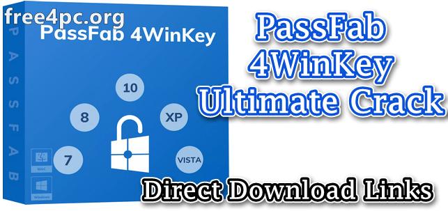 PassFab 4WinKey Ultimate Crack