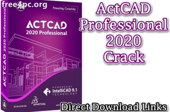 ActCAD Professional 2020 Crack