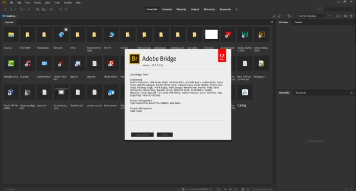 Adobe Bridge 2020 Full Version