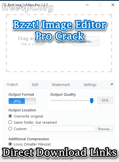 Bzzt! Image Editor Pro Crack